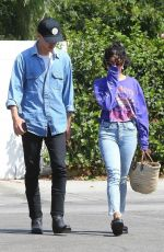VANESSA HUDGENS and Austin Butler Out for Breakfast in Los Angeles 07/19/2018