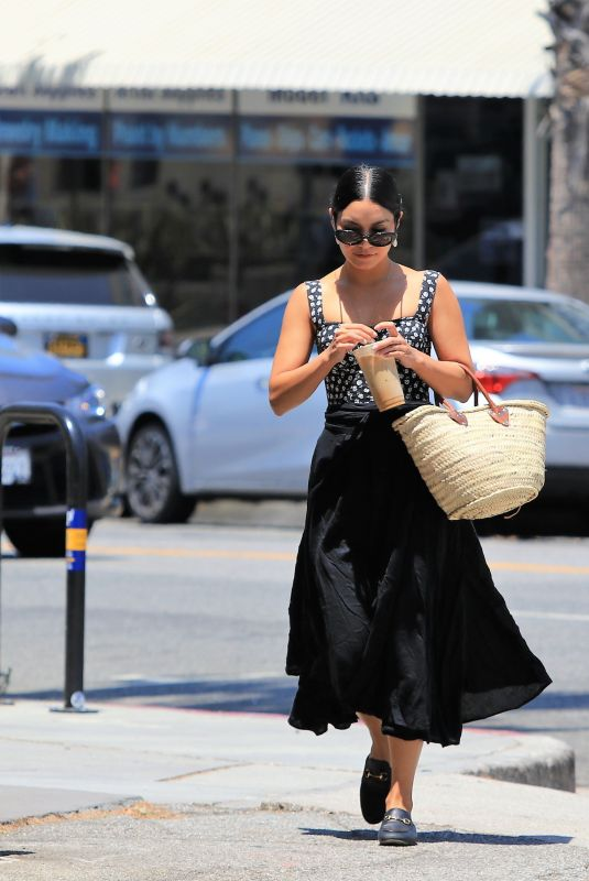 VANESSA HUDGENS Out and About in Studio City 07/17/2018