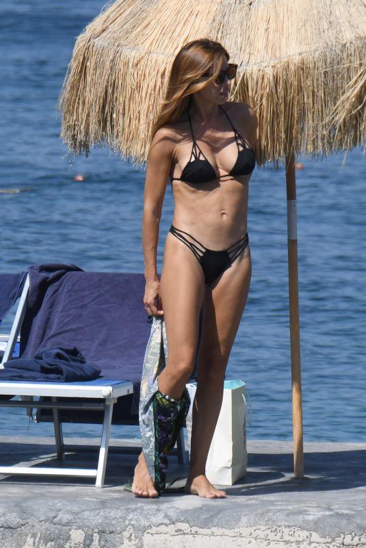VERONICA MAYA in Bikini at Hotel Regina Isabella in Ischia 07/15/2018