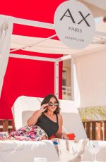 VICKY PATTISON at BH Mallorca Hotel Pool Party 07/13/2018