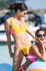 VICTORIA JUSTICE and MADISON REED in Bikinis at Revolve Summer Party in Bermuda 07/17/2018