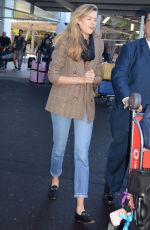 VICTORIA LEE Arrives at Airport in Sydney 07/29/2018