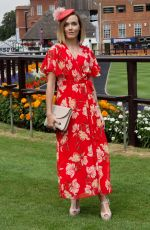 VICTORIA PENDLETON at Moet & Chandon July Festival, Ladies Day at Newmarket Racecourse 07/12/2018
