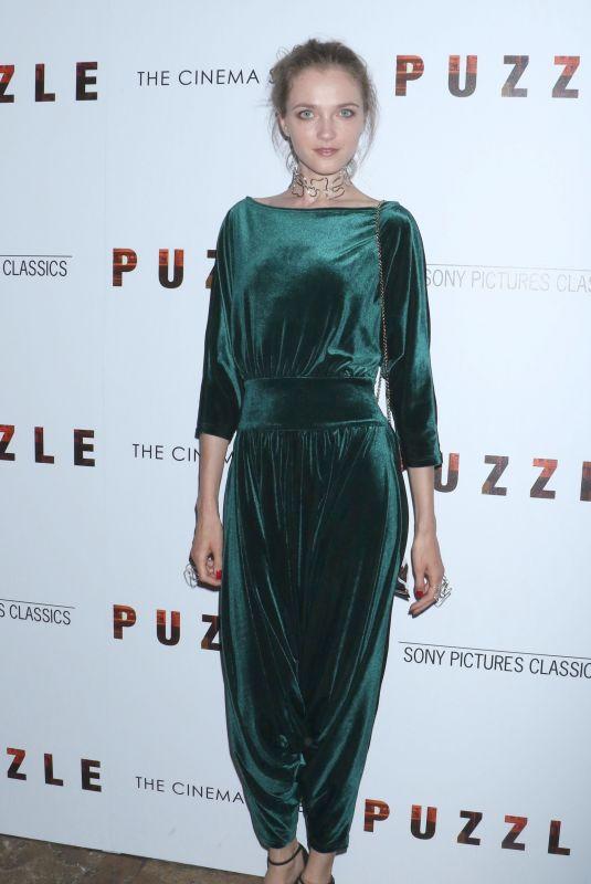 VLADA ROSLYAKOVA at Puzzle Screening in New York 07/24/2018