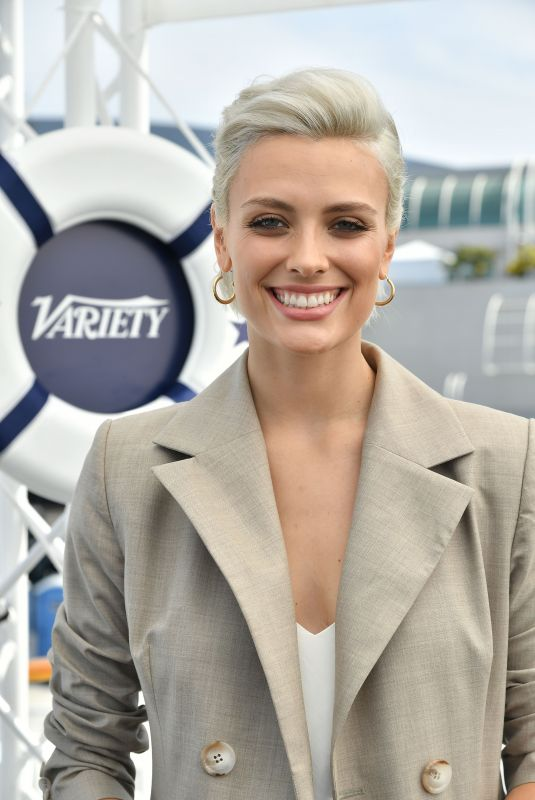 WALLIS DAY at Variety Studio at Comic-con in San Diego 07/21/2018