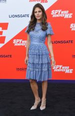 WERONIKA ROSATI at The Spy Who Dumped Me Premiere in Los Angeles 07/25/2018