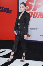WILLOW SHIELDS at The Spy Who Dumped Me Premiere in Los Angeles 07/25/2018