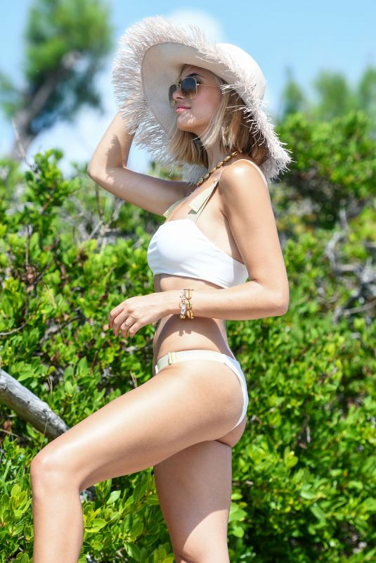 XENIA ADONTS XENIA ADONTS at Revolve Summer Event in Bermuda 07/17/2018