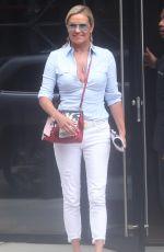 YOLANDA HADID Out in New York 07/17/2018