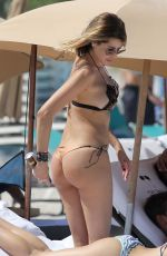 AIDA YESPICA in Bikini at a Beach in Los Angeles 08/15/2018