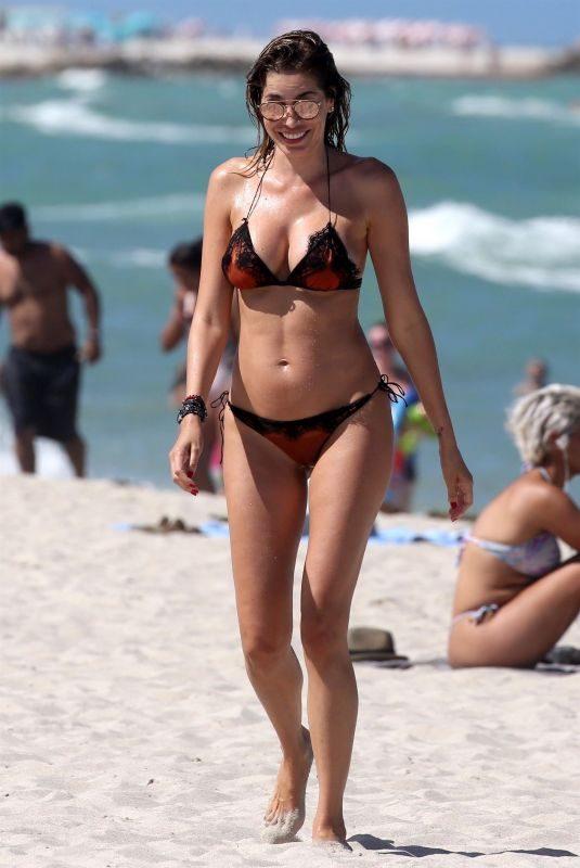AIDA YESPICA in Bikini at a Beach in Los Angeles 08/15/2018
