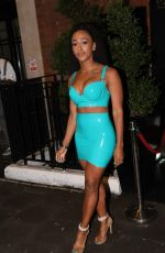 ALEXANDRA BURKE Celebrates Her 30th Birthday in London 08/24/2018