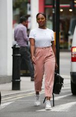 ALEXANDRA BURKE Out and About in London 08/19/2018