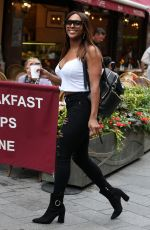 ALEXANDRA BURKE Out and About in London 08/22/2018