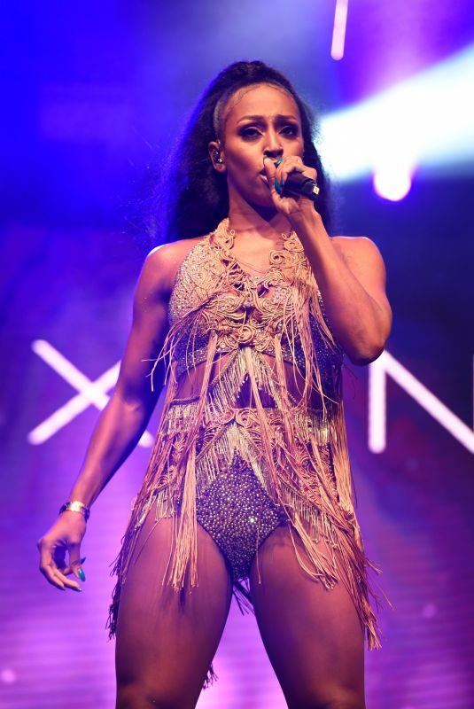 ALEXANDRA BURKE Performs at Pride in Manchester 08/27/2018