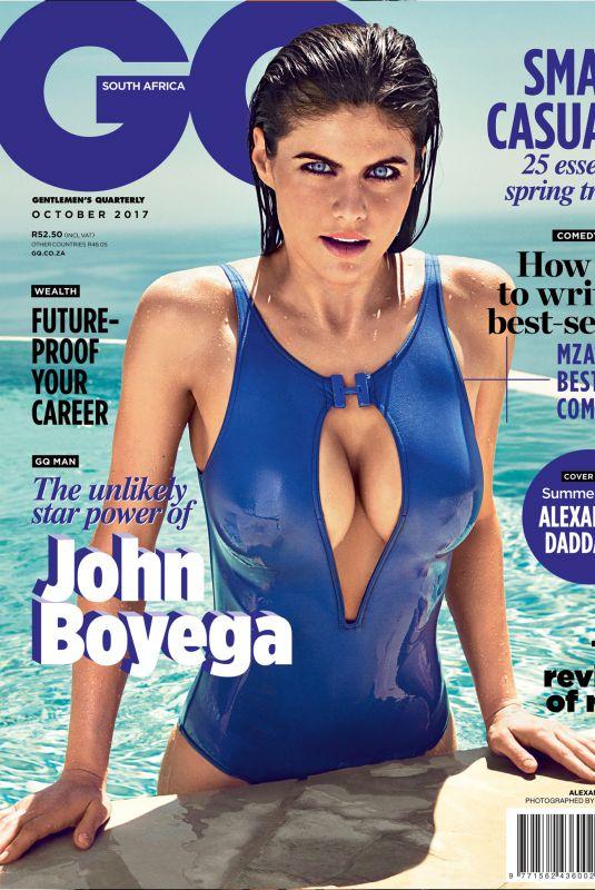 ALEXANDRA DADDARIO in GQ Magazine, July 2018 Issue