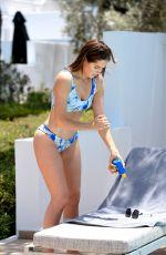 ALEXANDRA FELSTEAD in Bikini at a Pool in Greece 08/10/2018