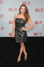 ALEXANDRA VINO at Mile 22 Premiere in Los Angeles 08/09/2018