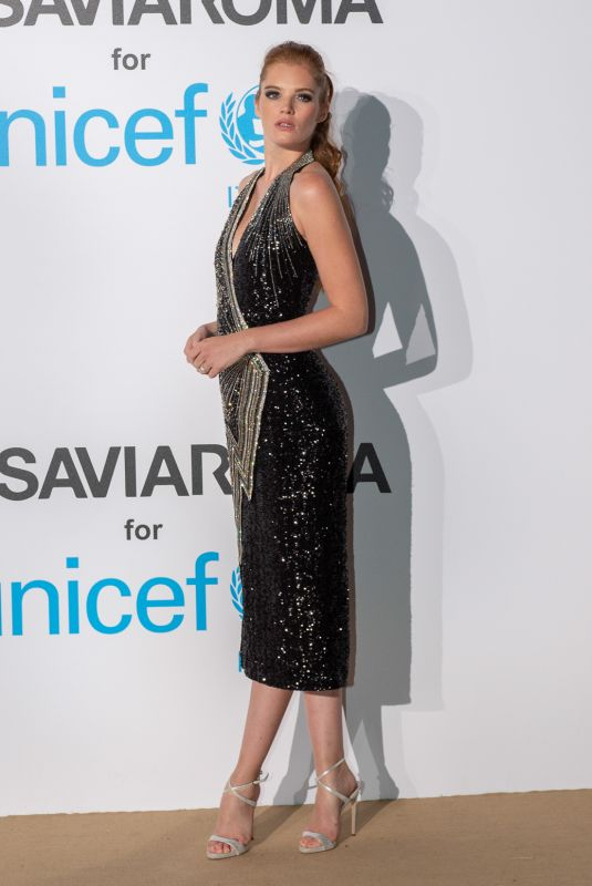 ALEXINA GRAHAM at Unicef Summer Gala in Porto Cervo 08/10/2018
