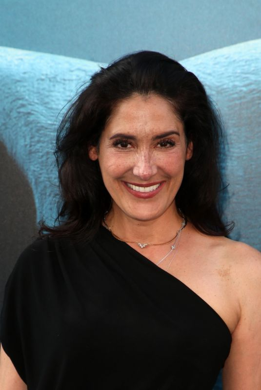 ALICIA COPPOLA at The Meg Premiere in Hollywood 08/06/2018