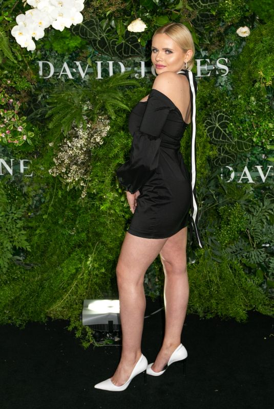 ALLI SIMPSON at David Jones Spring/Summer 2018 Fashion Show in Sydney 08/08/2018
