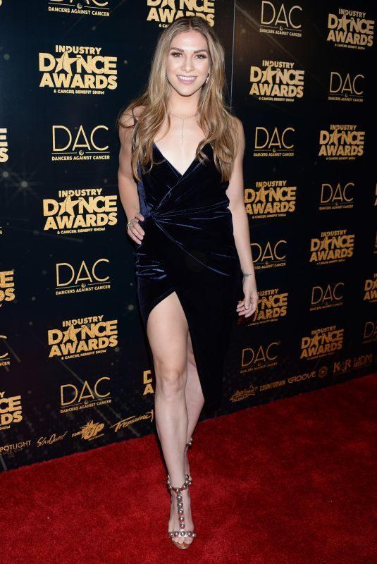 ALLISON HOLKER at Industry Dance Awards 2018 in Hollywood 08/15/2018