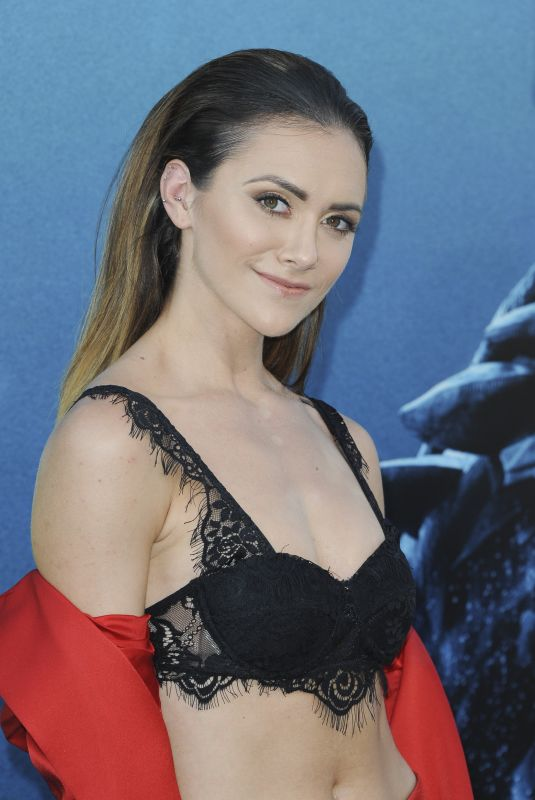 ALYSON STONER at The Meg Premiere in Hollywood 08/06/2018