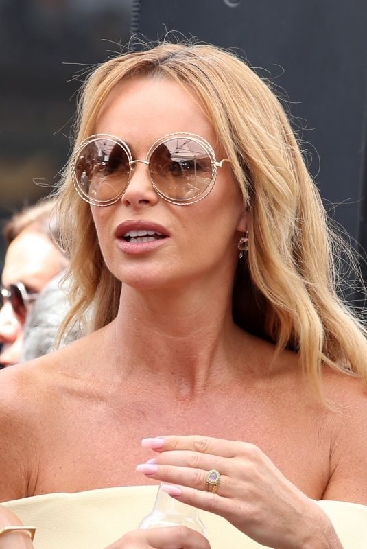 AMANDA HOLDEN at Simon Cowell Star on the Hollywood Walk of Fame Ceremony 08/22/2018