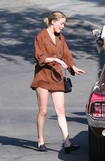 AMBER HEARD Out and About in Hollywood Hills 08/27/2018
