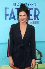 AMBER HODGKISS at Like Father Premiere in Los Angeles 07/31/2018
