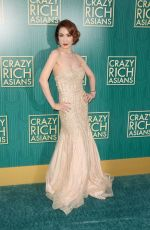 AMY CHENG at Crazy Rich Asians Premiere in Los Angeles 08/07/2018