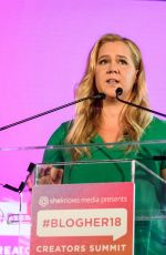 AMY SCHUMER at #blogher Creators Summit in New York 08/08/2018