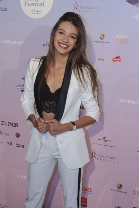 ANA GUERRA at Universal Music Festival 2018 Concert in Madrid 07/31/2018