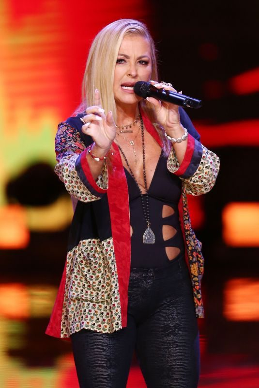 ANASTACIA Performs at Top Sopot Festival in Poland 08/15/2018