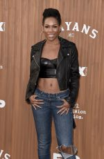 ANGELA LEWIS at Mayans M.C. Premiere in Hollywood 08/28/2018