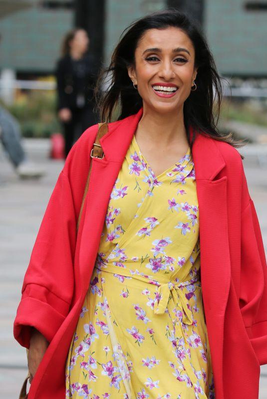 ANITA RANI Leaves ITV Studios in London 08/13/2018