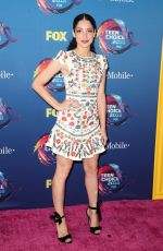 ANNA HOPKINS at 2018 Teen Choice Awards in Beverly Hills 08/12/2018