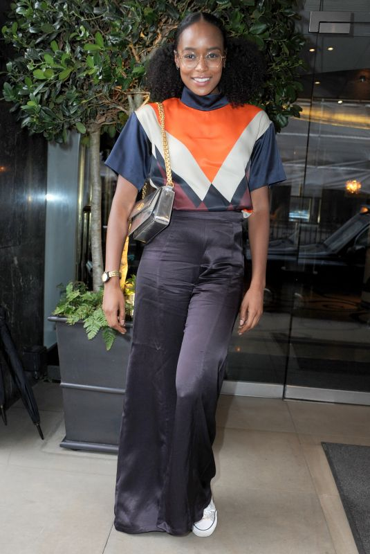 ANNALIESE DAYES at Kiss Nails and Lashes x Billie Faiers Launch Party in London 08/16/2018
