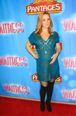 ANNIE WERSCHING at Waitress National Tour at Hollywood Pantages Theatre 08/03/2018