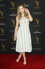 ANNIKA NOELLE at Television Academy Daytime Peer Group Emmy Celebration in Los Angeles 08/22/2018