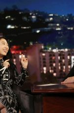 AWKWAFINA at Jimmy Kimmel Live 08/09/2018