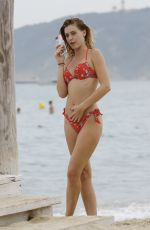 BARBARA OPSOMER in Bikini at a Beach in Saint Tropez 08/03/2018