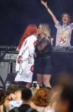 BELLA THORNE Performs at Billboard Hot 100 Music Festival in New York 08/19/2018