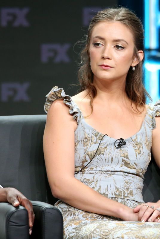 BILLIE LOURD at American Horror Story: Apocalypse Pane st TCA Summer Press Tour in Los Angeles 08/03/2018