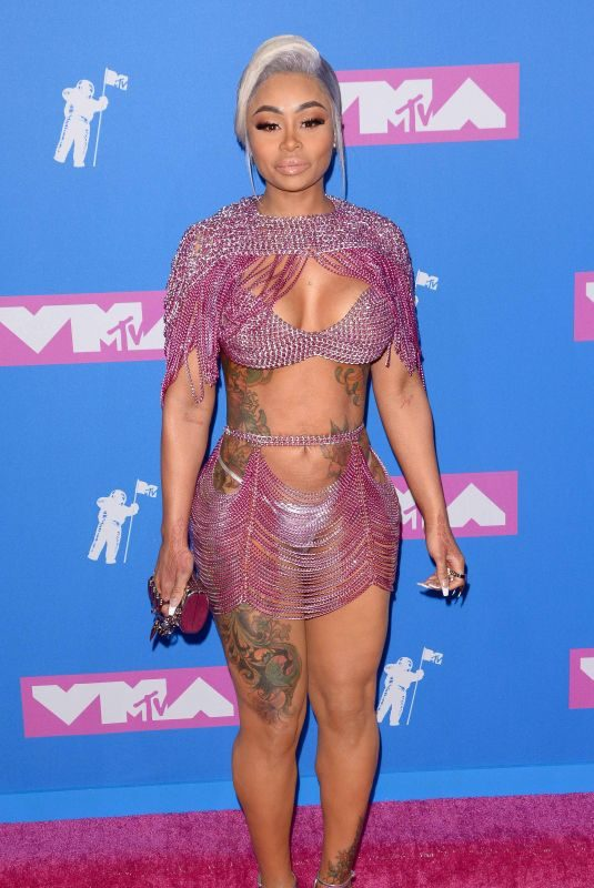 BLAC CHYNA at MTV Video Music Awards in New York 08/20/2018