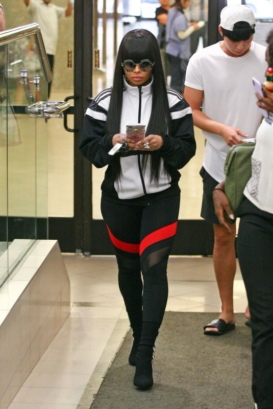BLAC CHYNA Out in Los Angeles 08/14/2018