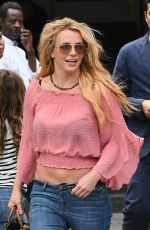 BRITNEY SPEARS Out and About in Paris 08/27/2018