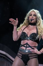 BRITNEY SPEARS Performs at Open Air Theatre in Scarborough 08/17/2018