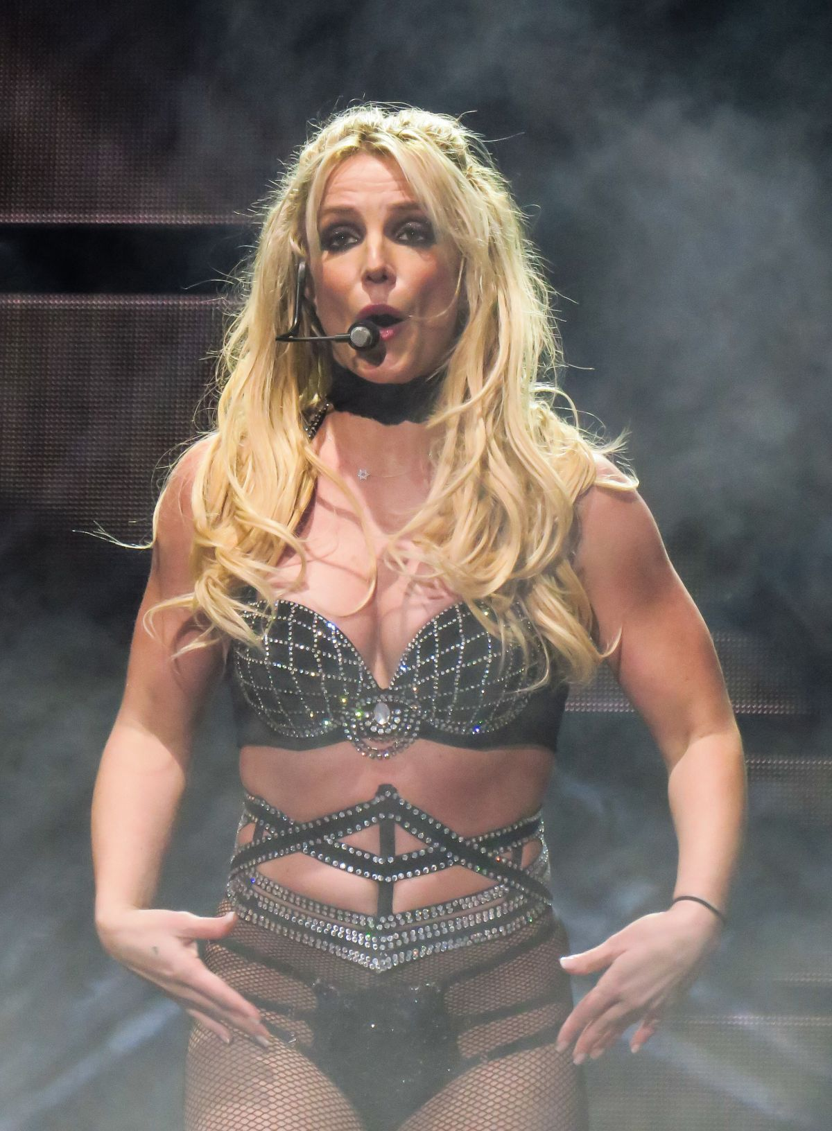 Through Britney spears see
