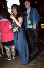 BROOKE VINCENT Arrives at Thomas Twins 30th Birthday Party in Manchester 08/11/2018